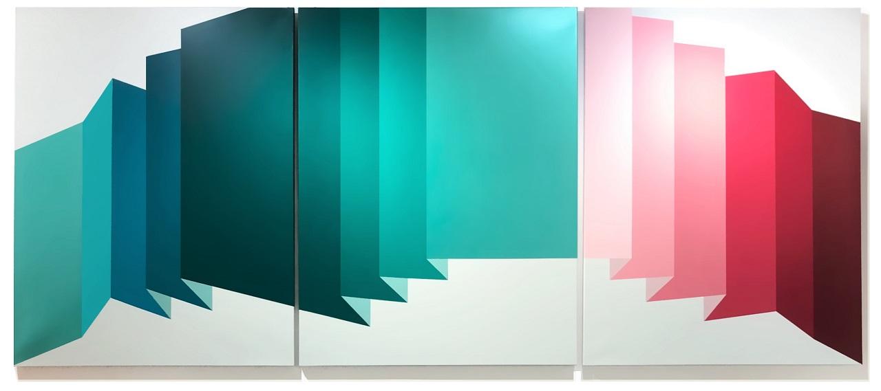 TEULADA 3 triptych, 2019